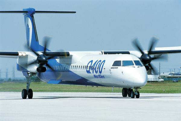 Bombardier Delivers its First Q400 Cargo-Combi Aircraft to Okinawa-based Ryukyu Air Commuter
