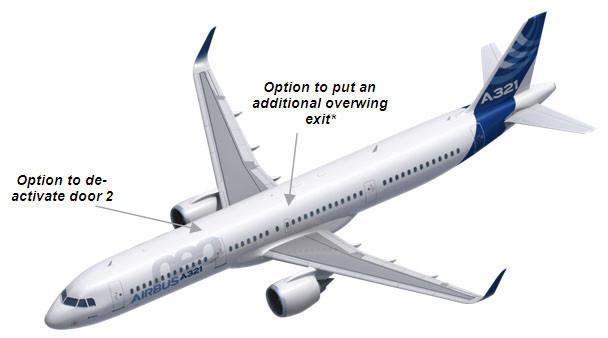 A321 nowy układ