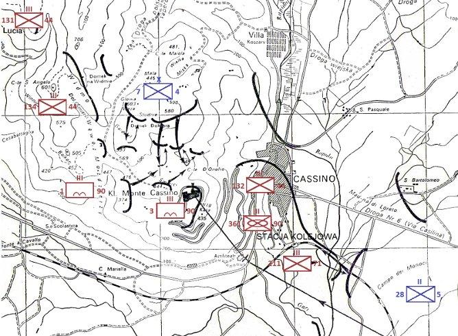Druga bitwa o Monte Cassino 2