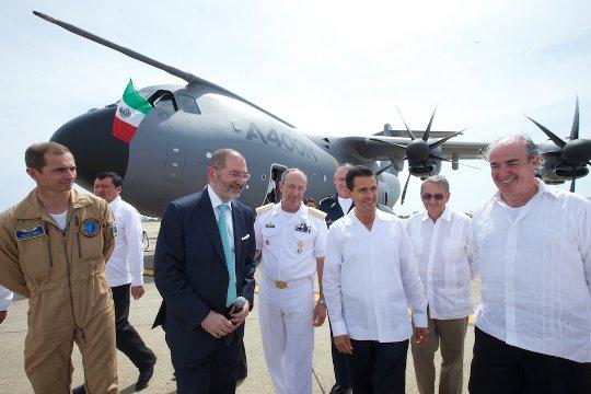 A400M President Mexico