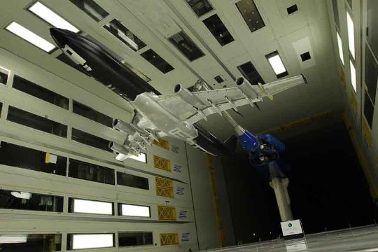 Cleansky - Airbus' BLADE in windtunnel_