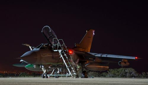 Tornados Arrive in Cyprus Ahead of Humanitarian Mission to Iraq