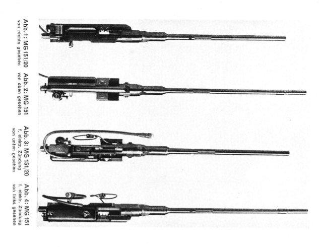 Amunicja do działek MG 151 15/20