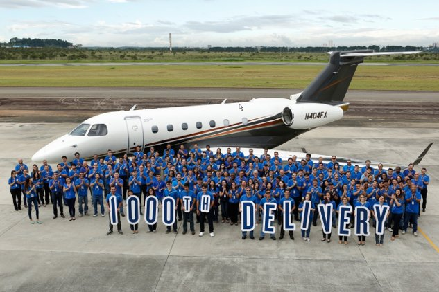 1000th Delivery Embraer